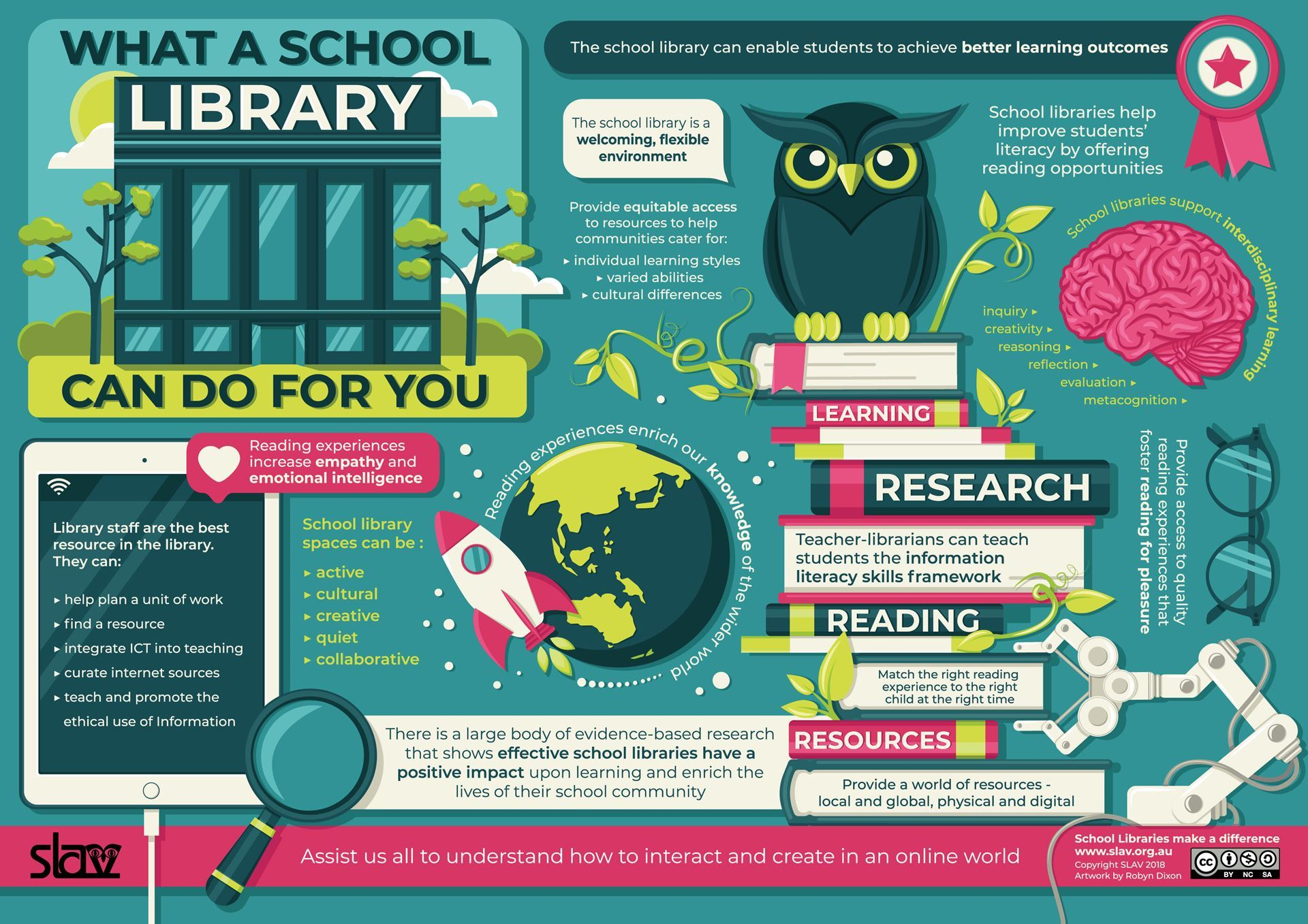 What a School Library can do for you